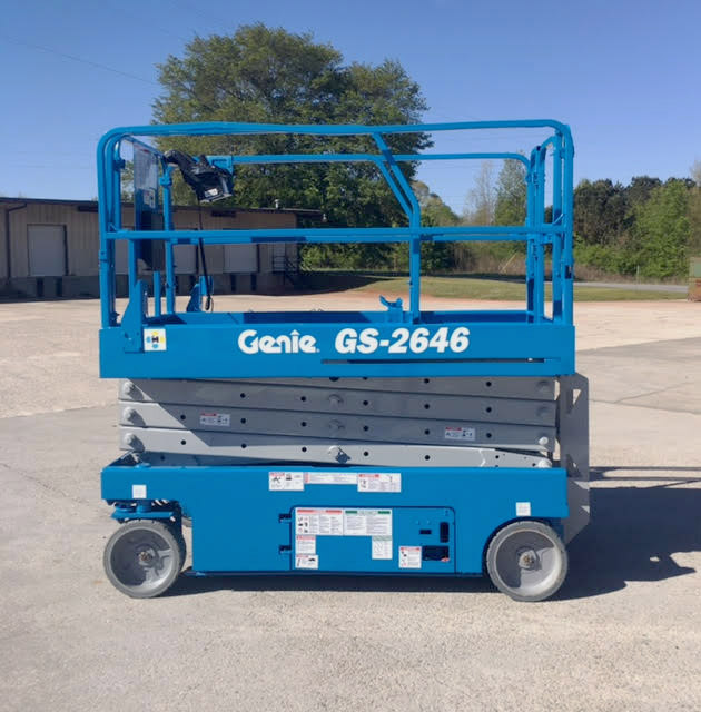 Used Scissor Lift For Sale >> Used 26 Foot Electric Scissor Lifts For Sale