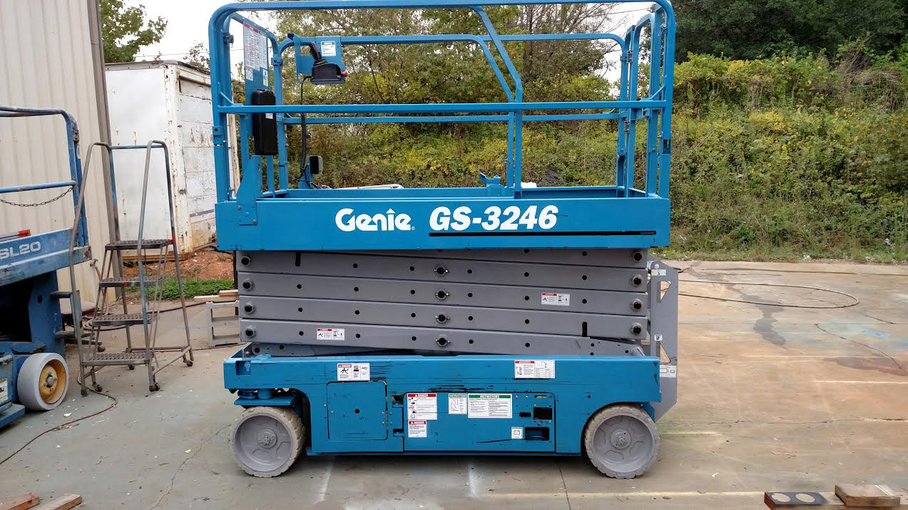 32 ft scissor lift - 2008_genie_gs3246 1 Additional Info For 32 Ft Electric Scissor Lifts